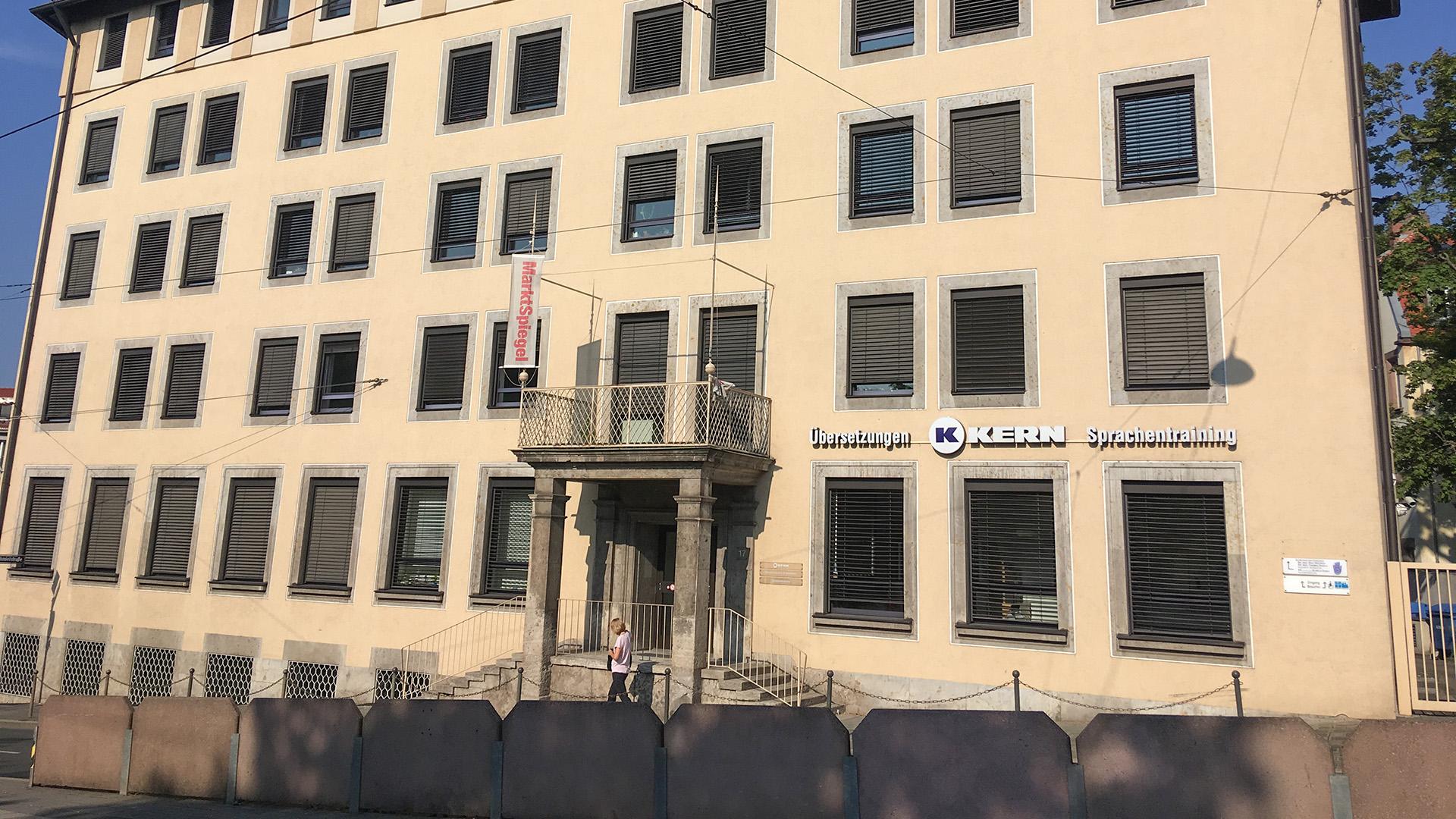 Außenansicht der KERN Sprachschule Nürnberg