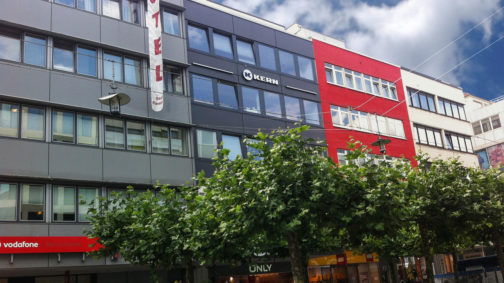 Außenansicht der KERN Sprachschule Saarbrücken